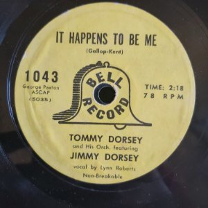COMPACTO - Tommy Dorsey And Jimmy Dorsey - It Happens To Be Me / Lost In Loveliness (Importado US)