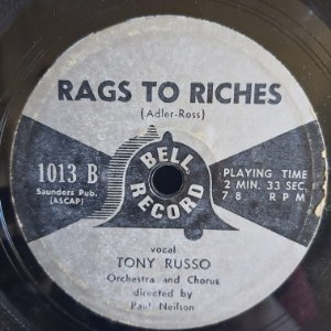 COMPACTO - Tony Russo - Many Times / Rags Ro Riches (Importado US)