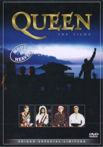 DVD - Queen – Made In Heaven (The Films) - PREÇO PROMOCIONAL