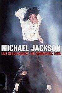 DVD - MICHAEL JACKSON LIVE IN BUCHAREST: THE DANGEROUS TOUR - PREÇO PROMOCIONAL