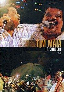 DVD - TIM MAIA IN CONCERT - PREÇO PROMOCIONAL