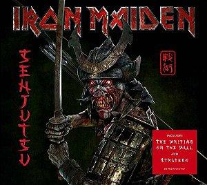 CD - IRON MAIDEN - SENJUTSU (Novo - Lacrado) - DUPLO