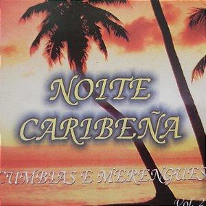 CD - Noite Caribeña - Cumbias e Merengues - Vol.2 (Vários Artistas)