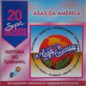 CD - História do Carnaval - Asas da América ( Vários Artistas )