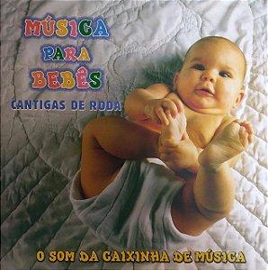 CD - Música Para Bebês - Cantigas de Roda