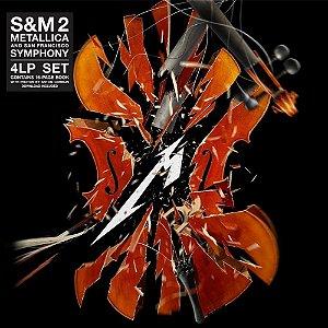 LP - Metallica & San Francisco Symphony – S&M2 (Novo - Lacrado) (Importado (Europa ) 4 Discos