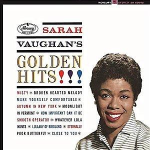LP - Sarah Vaughan – Sarah Vaughan's Golden Hits (Novo - Lacrado) (Importado (Europe))