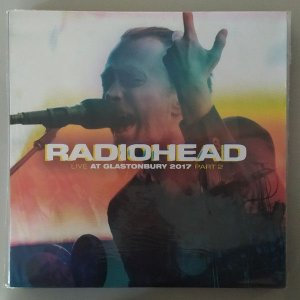 LP - Radiohead – Live At Glastonbury 2017 Part 2 (Importado) (Novo - Lacrado)