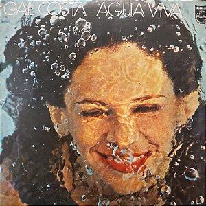 LP - Gal Costa – Água Viva