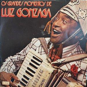 LP - Luiz Gonzaga – Os Grandes Momentos De Luiz Gonzaga