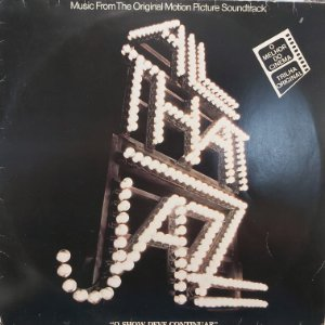 LP - All That Jazz - O Show Deve Continuar - Trilha Sonora Do Filme (Vários Artistas)