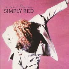 CD - Simply Red - A New Flame