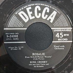 COMPACTO - Bing Crosby - Rosalie / I Never Realized (Importado USA)
