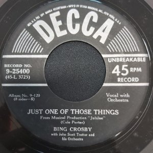 COMPACTO - Bing Crosby - I Love You / Just One Of Those Things (Importado USA)