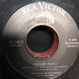 COMPACTO - Freddy Martins And His Orchestra - Lonesome Polecat / Somebory Goofed (Importado USA)