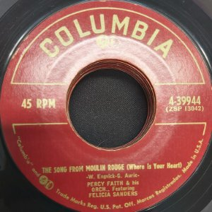 COMPACTO - Percy Faith And His Orchestra - Swdish Rhapsody / The Song From Moulin Rouge (Importado USA)