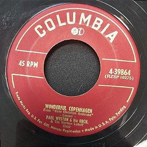 COMPACTO - Paul Weston And His Orchestra - Wonderful Copenhagen / Forgetting You (Importado USA)