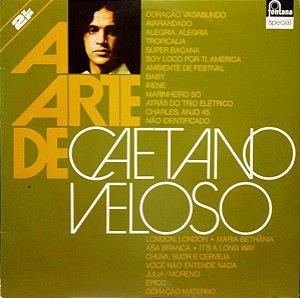 LP - Caetano Veloso (Coleção A Arte De) DUPLO