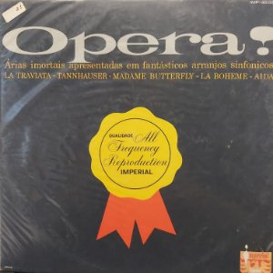 LP - 101 Strings Orchestra - Ópera!