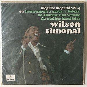 LP - Wilson Simonal – Alegria! Alegria! Vol. 4