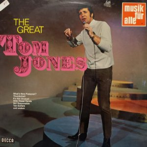 LP - Tom Jones – The Great Tom Jones (Importado Alemanha)