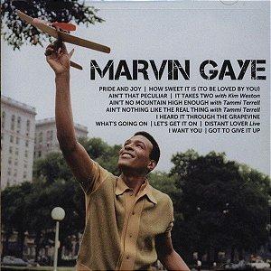 CD - Marvin Gaye – Icon ( Novo - Lacrado )