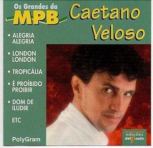 CD - Caetano Veloso (Coleção Os Grandes Da MPB)