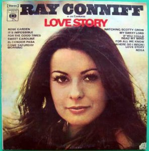 LP - Ray Conniff E Os Cantores – Love Story