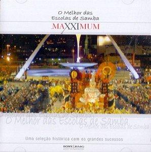 CD - O Melhor Das Escolas De Samba