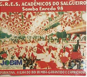 CD - G.R.E.S. Acadêmicos Do Salgueiro – Samba Enredo 98 (Parintins, A Ilha Do Boi-Bumba - Garantido E Caprichoso) - CD SINGLE