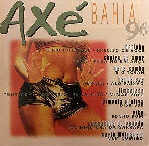 CD - Axé Bahia 96 (Vários Artistas)