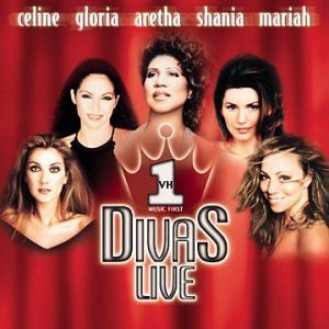 CD - Various Artists - VH1 Divas Live