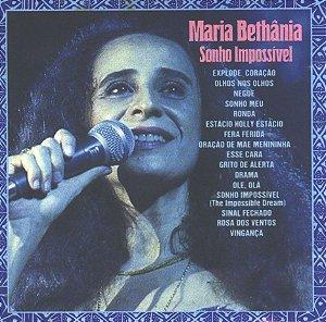 CD - Maria Bethânia - Sonho Impossível