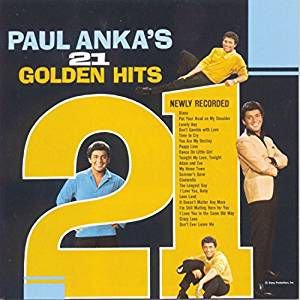 CD - Paul Anka - 21 Golden Hits - IMP