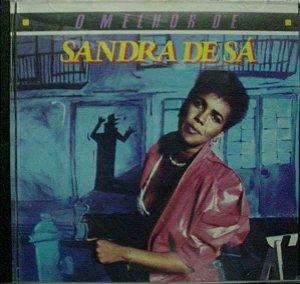 CD - Sandra de Sá - O Melhor de Sandra de Sá