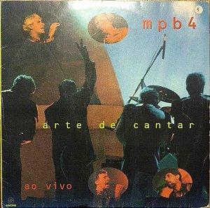 CD -  MPB4 - Arte De Cantar - Ao Vivo