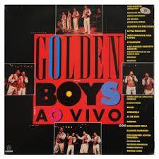 CD - GOLDEN BOYS - AO VIVO