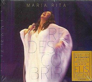 CD - Maria Rita - Redescobrir  (Digipack)