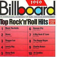 CD - Various - Billboard Top Rock 'N' Roll Hits -  1959 - IMP