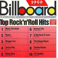 CD - Billboard Top Rock 'N' Roll Hits 1959 - IMP (Vários Artistas)