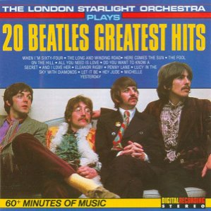 CD - The London Starlight Orchestra - 20 Beatles Greatest Hits