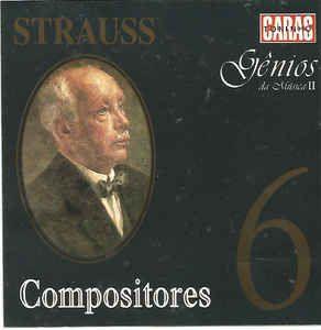 CD - Compositores 6 - Strauss - Gênios da Música II
