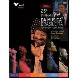 DVD - 23 Prêmio de Música Brasileira - Homenagem a João Bosco