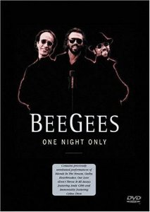 DVD - BEE GEES - One Night Only