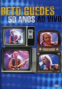 DVD - Beto Guedes 50 Anos - Ao Vivo