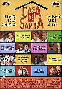 DVD - A Casa de Samba.