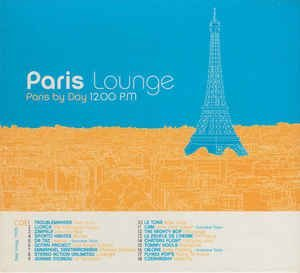 CD - Various ‎– Paris Lounge ( CD - DUPLO ) - IMP