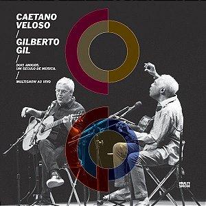 CD - Caetano Veloso / Gilberto Gil / Multishow Ao Vivo