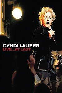 Cyndi Lauper: Live ...at last !