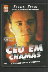 DVD - Céu em Chamas (Heaven´s Burning)